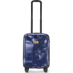 Walizka Icon kabinowa granatowa. Szare walizki marki Crash Baggage. Za 880,00 zł.