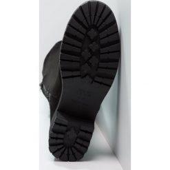 New Look CIVIL Muszkieterki black. Czarne buty zimowe damskie marki New Look, z materiału, na obcasie. Za 269,00 zł.
