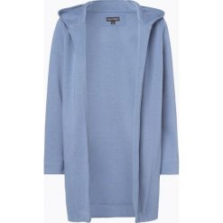 Bluzy damskie: Franco Callegari - Damska bluza rozpinana, niebieski