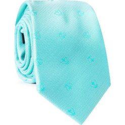 Krawat KWZR001758. Niebieskie krawaty męskie Giacomo Conti, z mikrofibry. Za 69,00 zł.