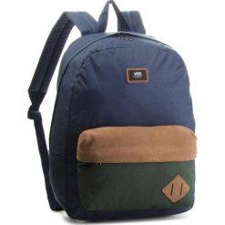 Plecak VANS - Old Skool II Ba VN000ONIROX Dress Blues/Darkest Spruce. Niebieskie plecaki damskie Vans, z materiału, sportowe. W wyprzedaży za 139,00 zł.