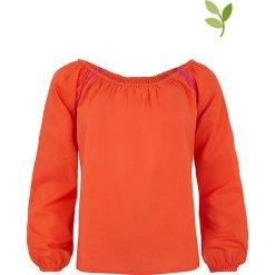 """T-shirty damskie: Koszulka """"Finna"""" w kolorze pomarańczowym"""