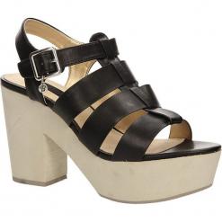 SANDAŁY BLINK 802054-B. Brązowe sandały damskie marki Blink. Za 69,99 zł.