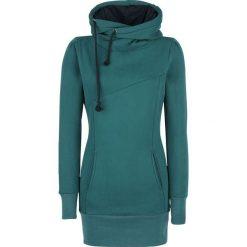 Bluzy damskie: Forplay Smart Hoodie Bluza z kapturem damska niebieski (Petrol)