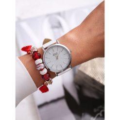 Biało-Srebrny Zegarek You Have Won. Białe zegarki damskie other, srebrne. Za 39,99 zł.