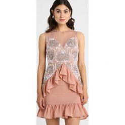 Sukienki hiszpanki: Maya Deluxe Sukienka koktajlowa pink
