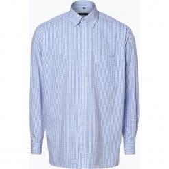 Eterna Comfort Fit - Koszula męska, niebieski. Brązowe koszule męskie na spinki marki N/A, w kolorowe wzory. Za 149,95 zł.