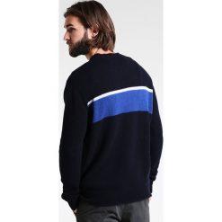 Swetry klasyczne męskie: Loreak BORDER Sweter navy