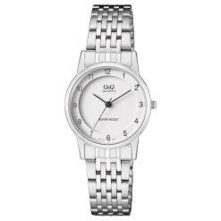 Zegarek Q&Q Damski Klasyczny QA57-204 srebrny. Szare zegarki damskie Q&Q, srebrne. Za 113,20 zł.