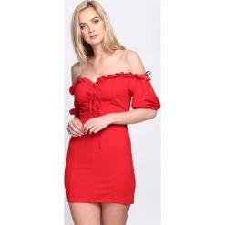 Sukienki: Czerwona Sukienka Proud Of You