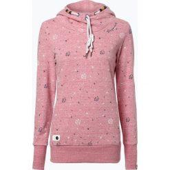 Odzież damska: Ragwear - Damska bluza nierozpinana – Gripy, czerwony