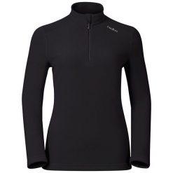Bluzy sportowe damskie: Odlo Bluza damska Midlayer 1/2 zip LE TOUR  czarna r. S (222011)