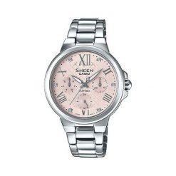 Zegarek Sheen Damski SHE-3511D-4AUER Swarovski Szafir srebrny. Szare zegarki damskie Sheen, srebrne. Za 629,00 zł.