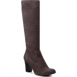 Kozaki CAPRICE - 9-9-25503-29 Anthra. Stretch 224. Szare buty zimowe damskie Caprice, z materiału. W wyprzedaży za 199,00 zł.
