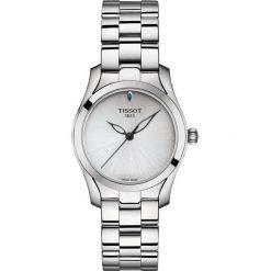 RABAT ZEGAREK TISSOT T-WAVE T112.210.11.031.00. Szare zegarki damskie TISSOT, ze stali. W wyprzedaży za 1364,00 zł.