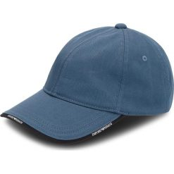 Czapka z daszkiem EMPORIO ARMANI - 627502 8A552 01537  Coastal Blue. Niebieskie czapki z daszkiem damskie marki Emporio Armani, z bawełny. W wyprzedaży za 199,00 zł.