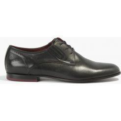 Półbuty czarne Dante. Czarne buty wizytowe męskie Badura. Za 319,99 zł.