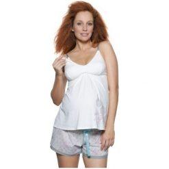 CAMI TOP BIALY XL (HOT0187). Białe bielizna ciążowa HOTMILK, xl. Za 50,10 zł.