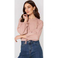 Odzież damska: MANGO Sweter z bufiastym rękawem - Pink