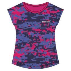 Hi-tec Koszulka Sportowa Damska Niko Beetroot Purple Pattern r. XL. Fioletowe bluzki sportowe damskie Hi-tec, xl. Za 69,99 zł.