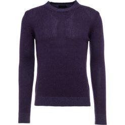 Roberto Collina CREW NECK Sweter purple. Fioletowe swetry klasyczne męskie marki Reserved, l, z bawełny. Za 909,00 zł.