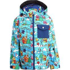 Quiksilver MR MEN Kurtka snowboardowa light blue. Niebieskie kurtki chłopięce marki Quiksilver, l, narciarskie. W wyprzedaży za 335,20 zł.