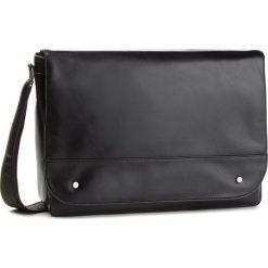 Torba na laptopa LANETTI - RM0439 Black. Czarne torby na laptopa marki Lanetti, ze skóry ekologicznej. W wyprzedaży za 119,99 zł.