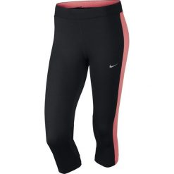 Legginsy damskie do biegania: legginsy do biegania damskie 3/4 NIKE DRI-FIT ESSENTIAL CAPRI / 645603-014 - NIKE DRI-FIT ESSENTIAL CAPRI
