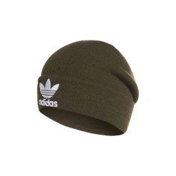 Czapki adidas  Czapka beanie Trefoil. Zielone czapki zimowe damskie Adidas. Za 89,95 zł.