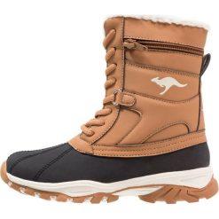 Buty zimowe damskie: KangaROOS DARWIN Śniegowce saddle brown