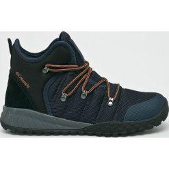 Columbia - Buty Fair Banks. Czarne buty trekkingowe męskie Columbia, z materiału, na sznurówki, outdoorowe. W wyprzedaży za 429,90 zł.
