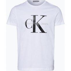 Calvin Klein Jeans - T-shirt męski, czarny. Czarne t-shirty męskie marki Calvin Klein Jeans, z bawełny. Za 179,95 zł.