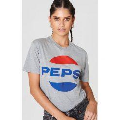 T-shirty damskie: Sweet SKTBS T-shirt Sweet Pepsi – Grey