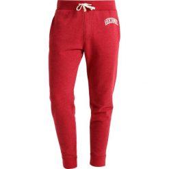 Spodnie dresowe męskie: Abercrombie & Fitch LOUNGE DOORBUSTER Spodnie treningowe burgundy