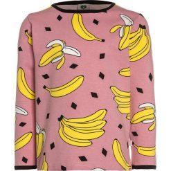 Bluzki dziewczęce bawełniane: Småfolk WITH BANANAS Bluzka z długim rękawem blush