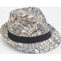 Kapelusze męskie: Pleciony kapelusz - Beżowy