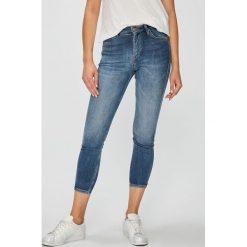 Lee - Jeansy Scarlett. Niebieskie jeansy damskie marki House, z jeansu. Za 319,90 zł.