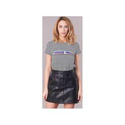 T-shirty z krótkim rękawem Moony Mood  ILANOU. Szare t-shirty damskie Moony Mood, l. Za 87,20 zł.