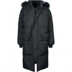 Urban Classics Ladies Oversize Faux Fur Puffer Coat Kurtka zimowa damska czarny. Czarne bomberki damskie Urban Classics, na zimę, xl. Za 446,90 zł.