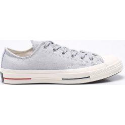 Converse - Tenisówki. Szare tenisówki męskie marki Converse, z gumy, na sznurówki. W wyprzedaży za 249,90 zł.