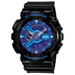 Zegarek Casio Męski GA-110HC-1AER G-Shock czarny. Czarne zegarki męskie CASIO. Za 432,00 zł.