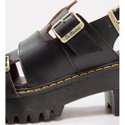 Buty: Dr. Martens ARIEL Sandały na platformie black vintage