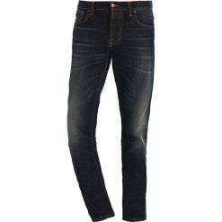 Spodnie męskie: Nudie Jeans GRIM TIM Jeansy Slim Fit dark blue