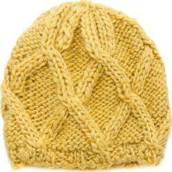 Czapka damska Zimowe deltoidy żółta. Żółte czapki zimowe damskie Art of Polo, na zimę. Za 36,52 zł.