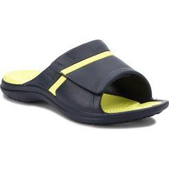 Chodaki damskie: Klapki CROCS - Modi Sport Slide 204144 Navy/Tennis Ball Green