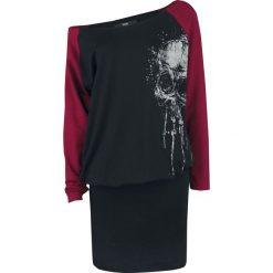 Black Premium by EMP Hold Loosely Sukienka czarny/bordowy. Czarne długie sukienki marki Black Premium by EMP, xl, z poliesteru. Za 144,90 zł.