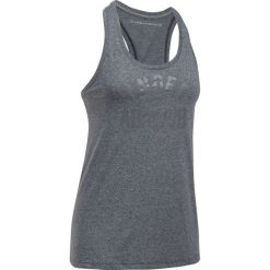 Bluzki damskie: Under Armour Koszulka damska Threadborne Train Wordmark Tank -Twist W czarna r. M (1290612-001)