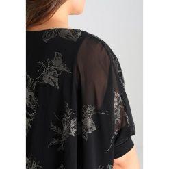 Bluzki asymetryczne: Evans OVERLAY Bluzka multi dark