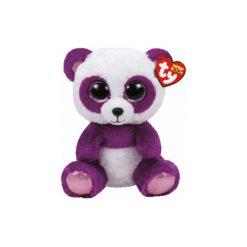 Maskotka TY INC Beanie Boos Boom Boom - Panda 24 cm 37088. Fioletowe przytulanki i maskotki marki TY INC. Za 39,99 zł.