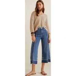 Mango - Jeansy Culotte. Niebieskie jeansy damskie relaxed fit marki Reserved. Za 139,90 zł.